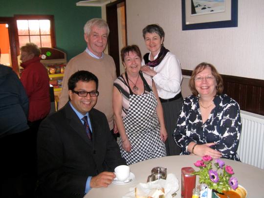 Lib Dems visit YM, Montrose